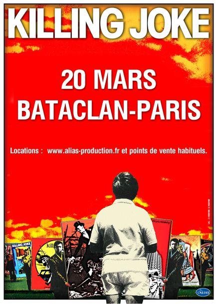 Killing Joke @ Bataclan (Paris), le 20 Mars 2013