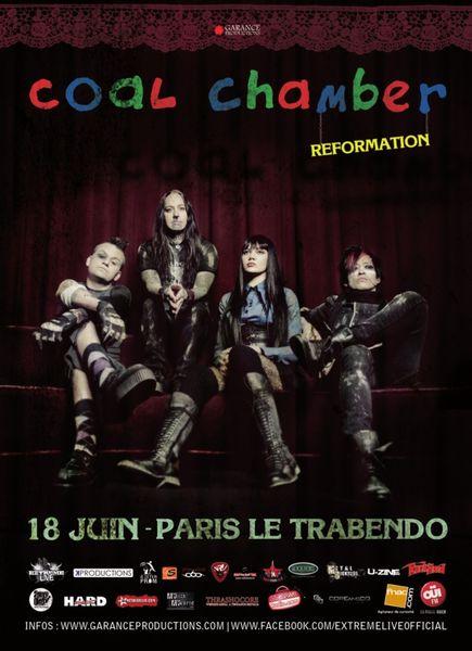 Coal Chamber @ Trabendo (Paris), le 18 Juin 2013