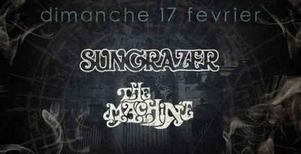 Sungrazer + The Machine @ Combustibles (Paris), le 17 Février 2013