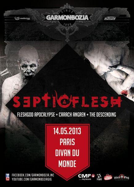 Septic Flesh @ Divan du Monde (Paris), le 14/05/2013