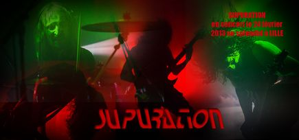 Supuration + Dylath-Leen + Outcast @ Splendid (Lille), le 24 Février 2013