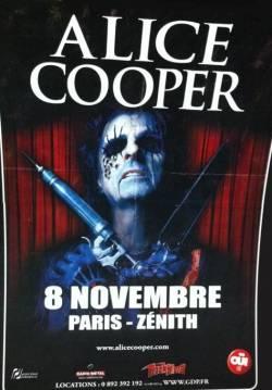 Alice Cooper @ Zenith (Paris), le 08 Novembre 2011