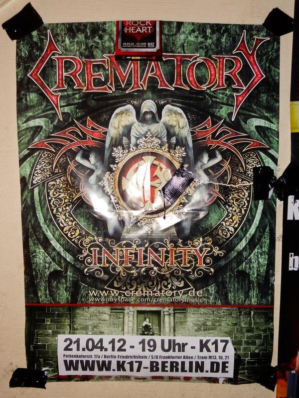Crematory @ K17 (Berlin, Allemagne), le 21 Avril 2012