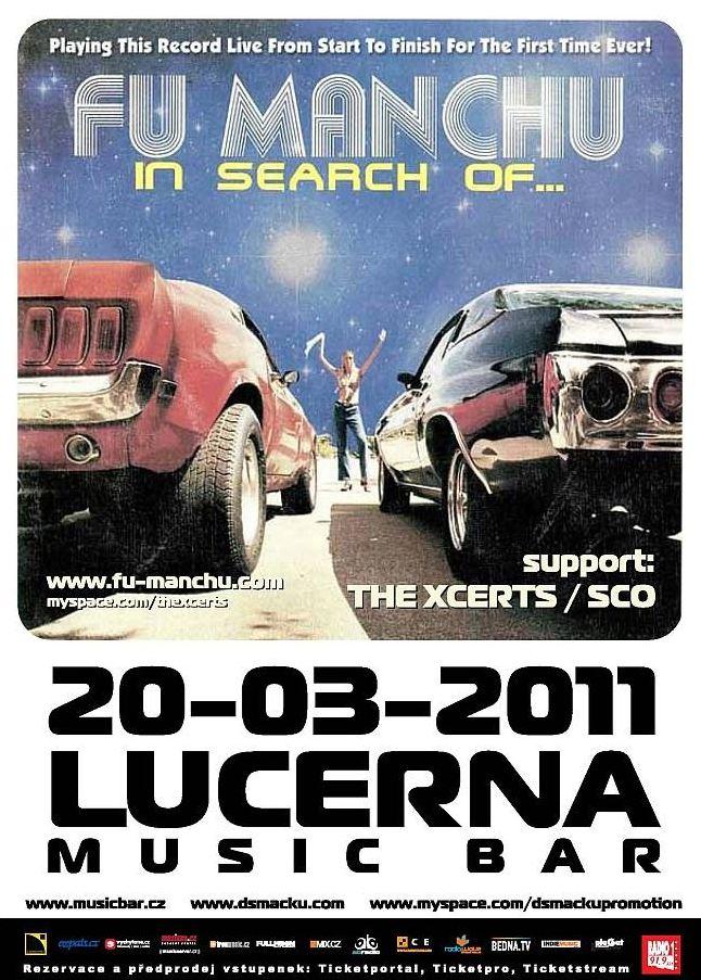Fu Manchu @ Lucerna Music Bar (Prague, République Tchèque), le 20 Mars 2011