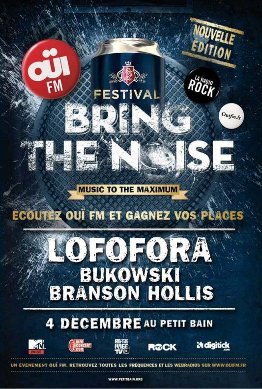 Bring The Noise, OüiFM Festival : Lofofora @ Petit Bain (Paris), le 04 Décembre 2011