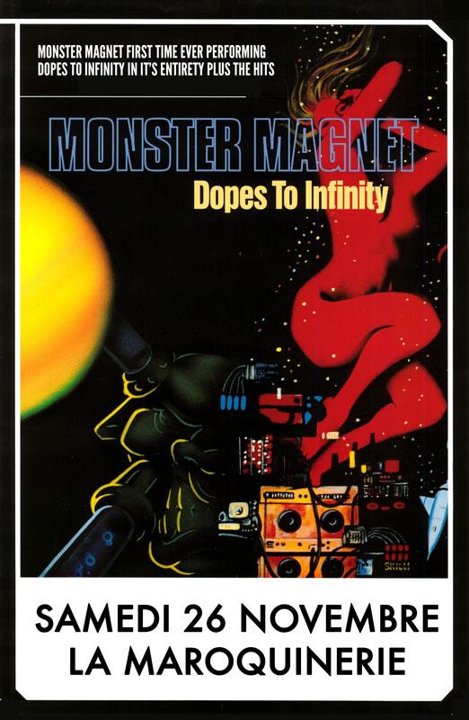 Monster Magnet @ Maroquinerie (Paris), le 26 Novembre 2011
