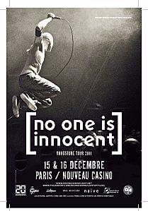 No One Is Innocent @ Nouveau Casino (Paris), le 15 Décembre 2011