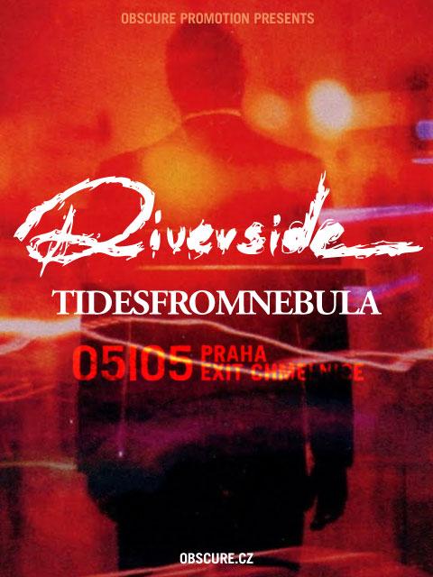 Riverside + Tides From Nebula @ Exit Chmelnice (Praha(Prague), République Tchèque), le 5 Mai 2011