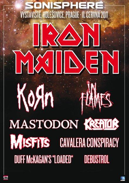 Sonisphere 2011 @ Prague (République Tchèque), le 11 Juin 2011