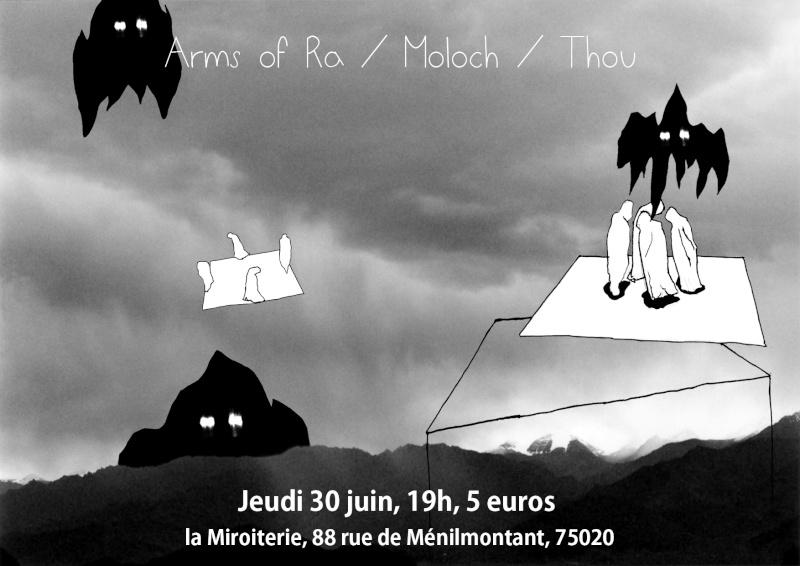 Thou + Moloch @ Miroiterie (Paris), le 30 Juin 2011