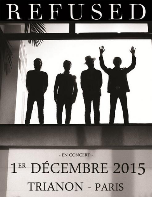 Refused @ Trianon (Paris), le 1er Décembre 2015