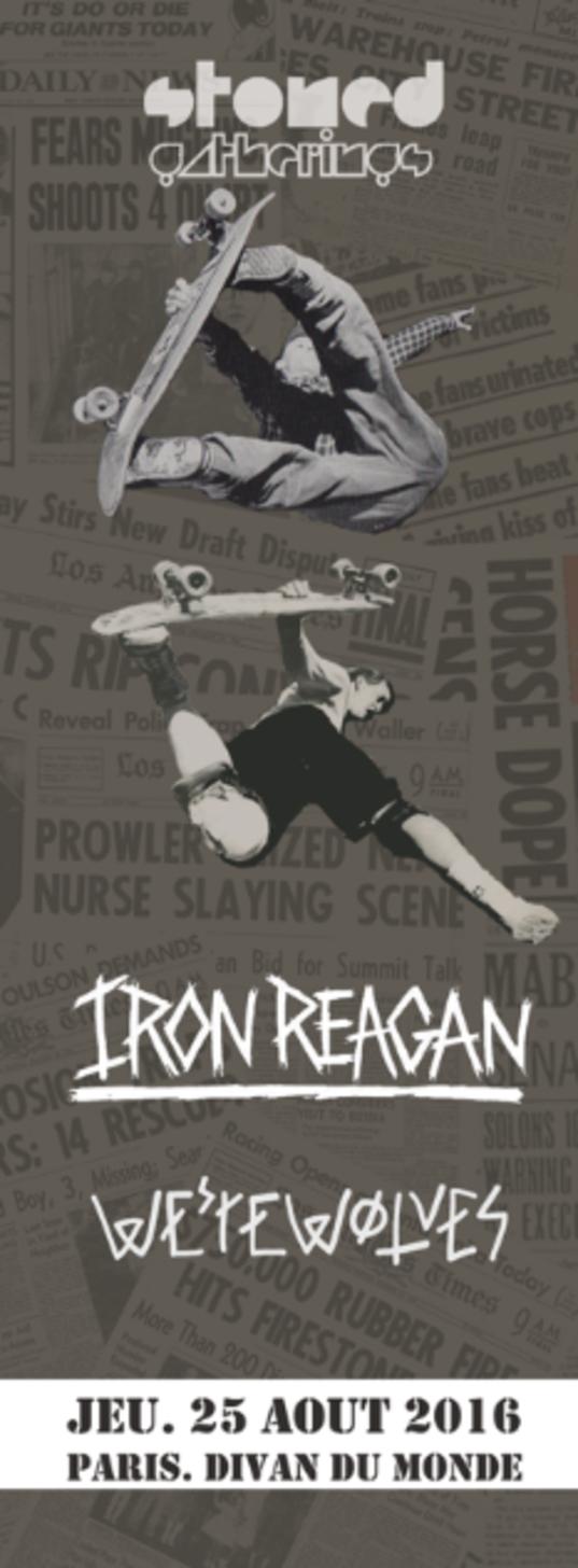 Iron Reagan @ Divan du Monde (Paris), le 25 Août 2016