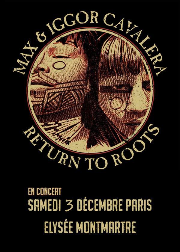 Max & Iggor : Return To Roots @ Elysée Montmartre (Paris), le 3 Décembre 2016
