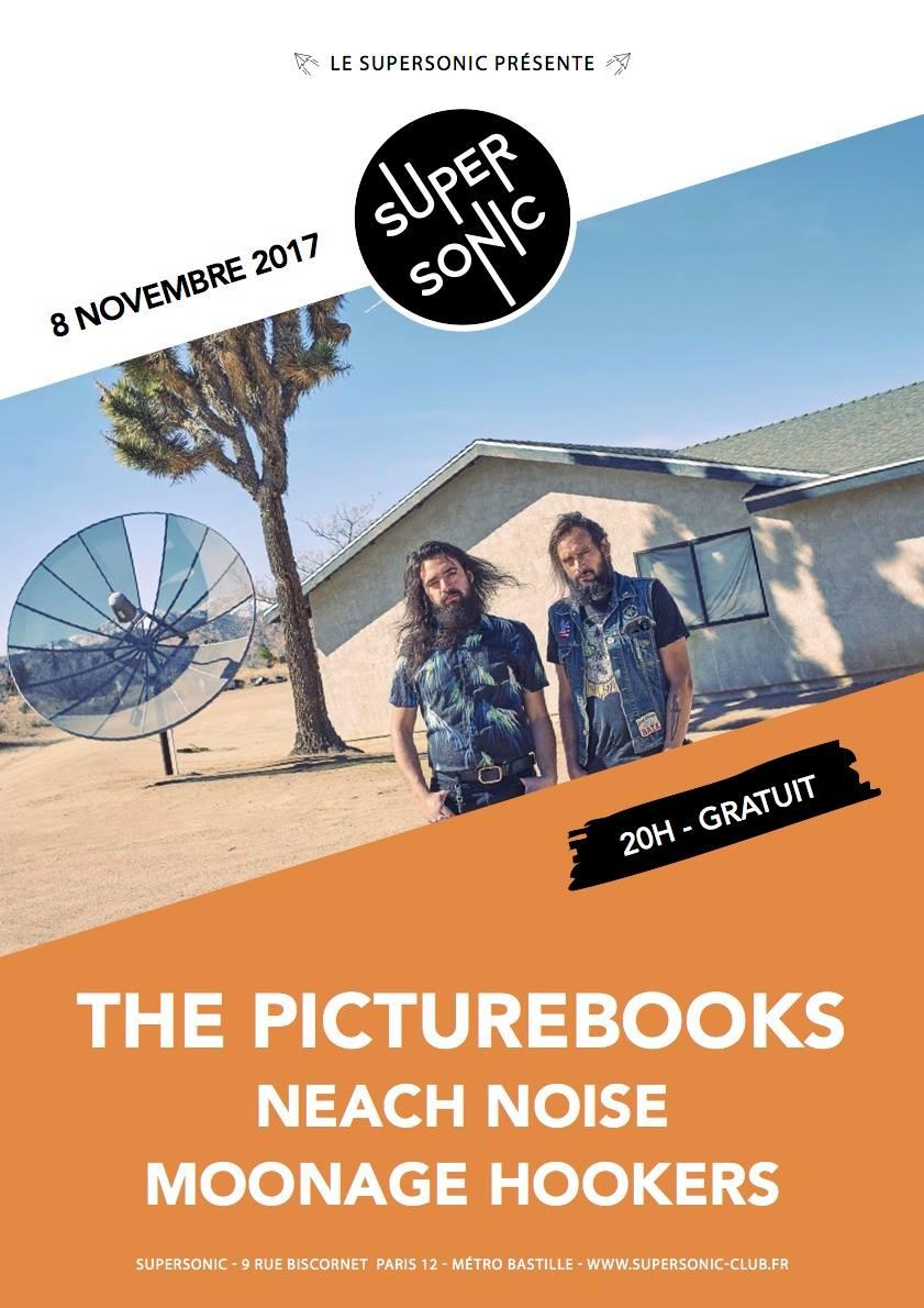 The Picturebooks + Neptune Grass @ Supersonic (Paris), le 8 Novembre 2017