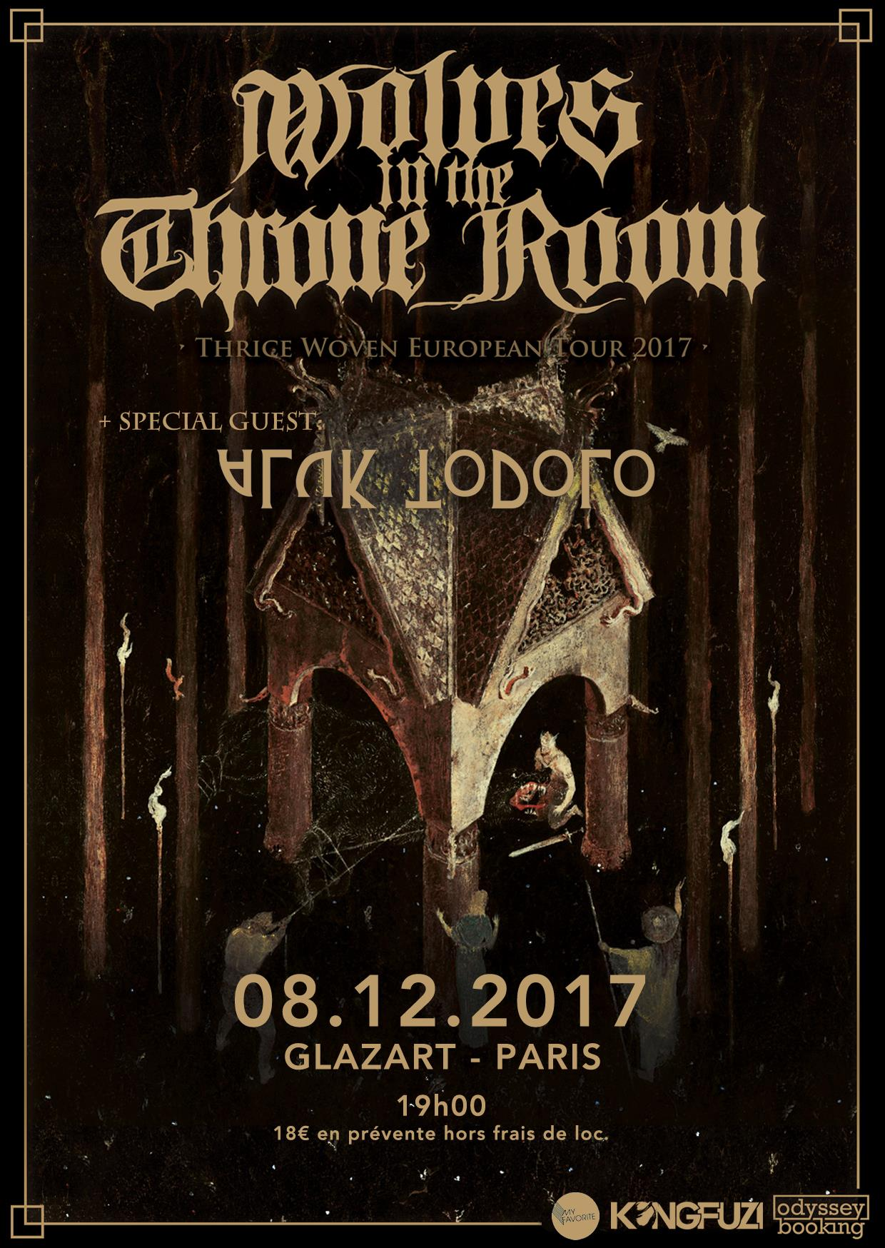 Wolves In The Throne Room + Aluk Todolo @ Glazart (Paris), le 8 Décembre 2017