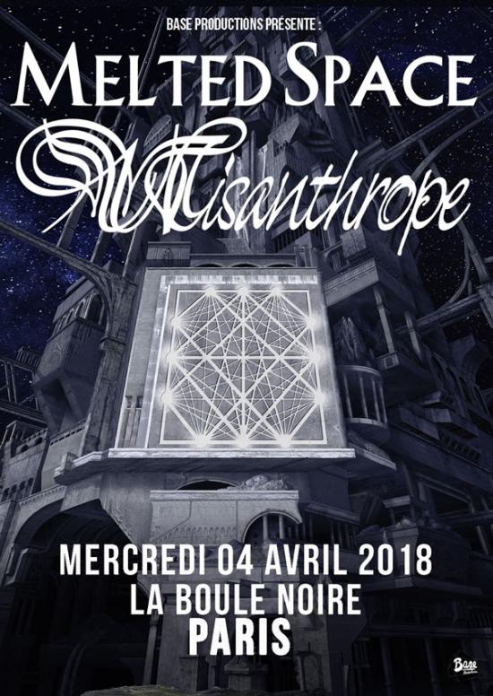 Misanthrope @ La Boule Noire (Paris), le 4 Avril 2018