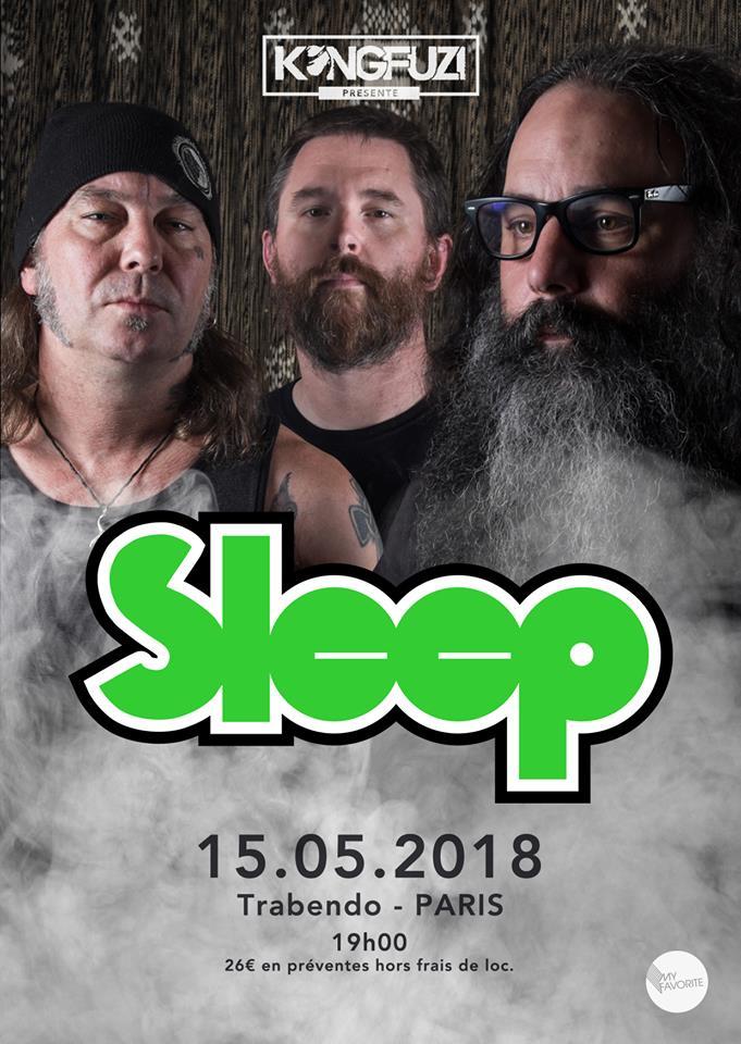 Sleep + Sofy Major @ Trabendo (Paris), le 15 Mai 2018