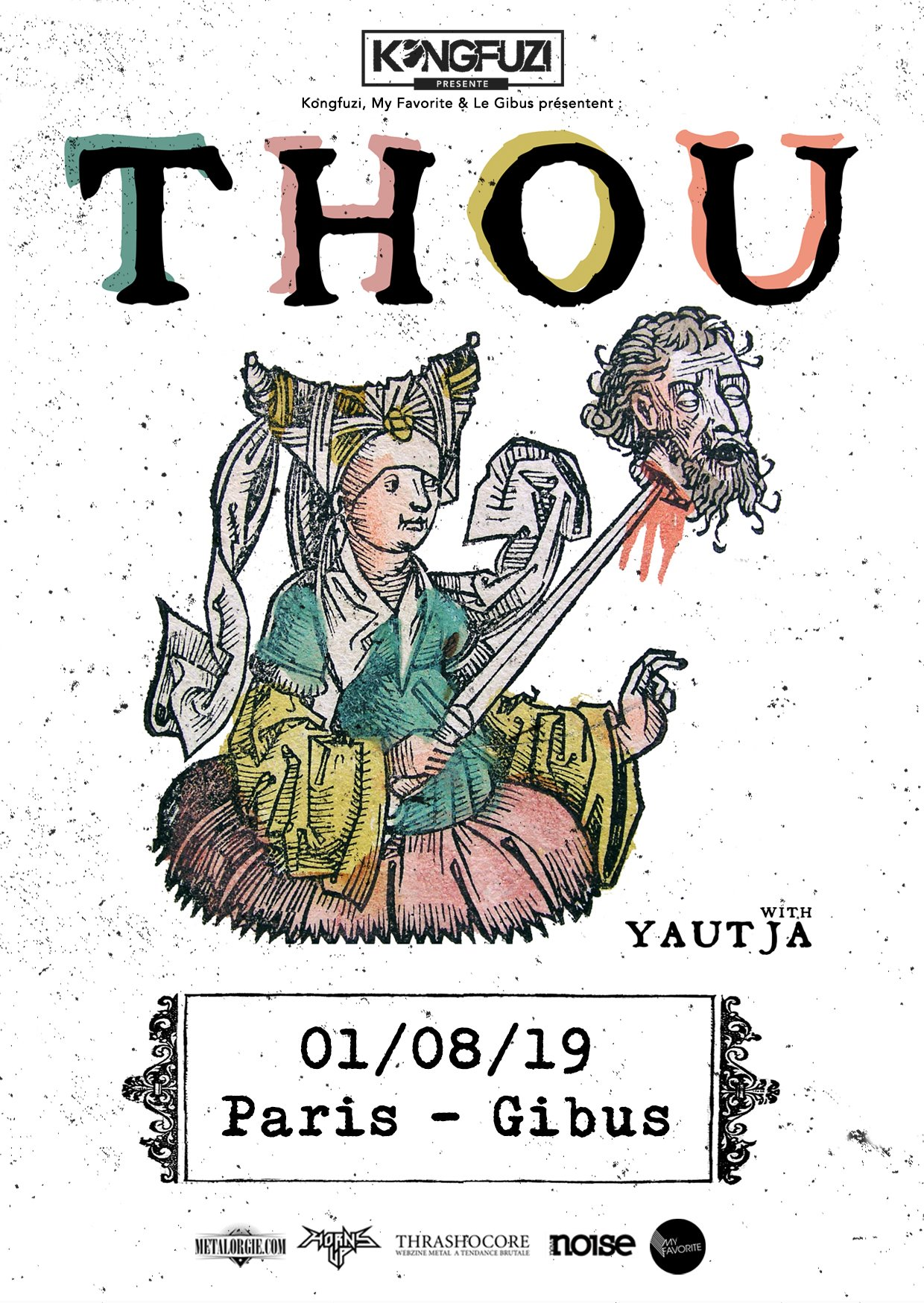 Thou @ Gibus (Paris), le 1 Août 2019