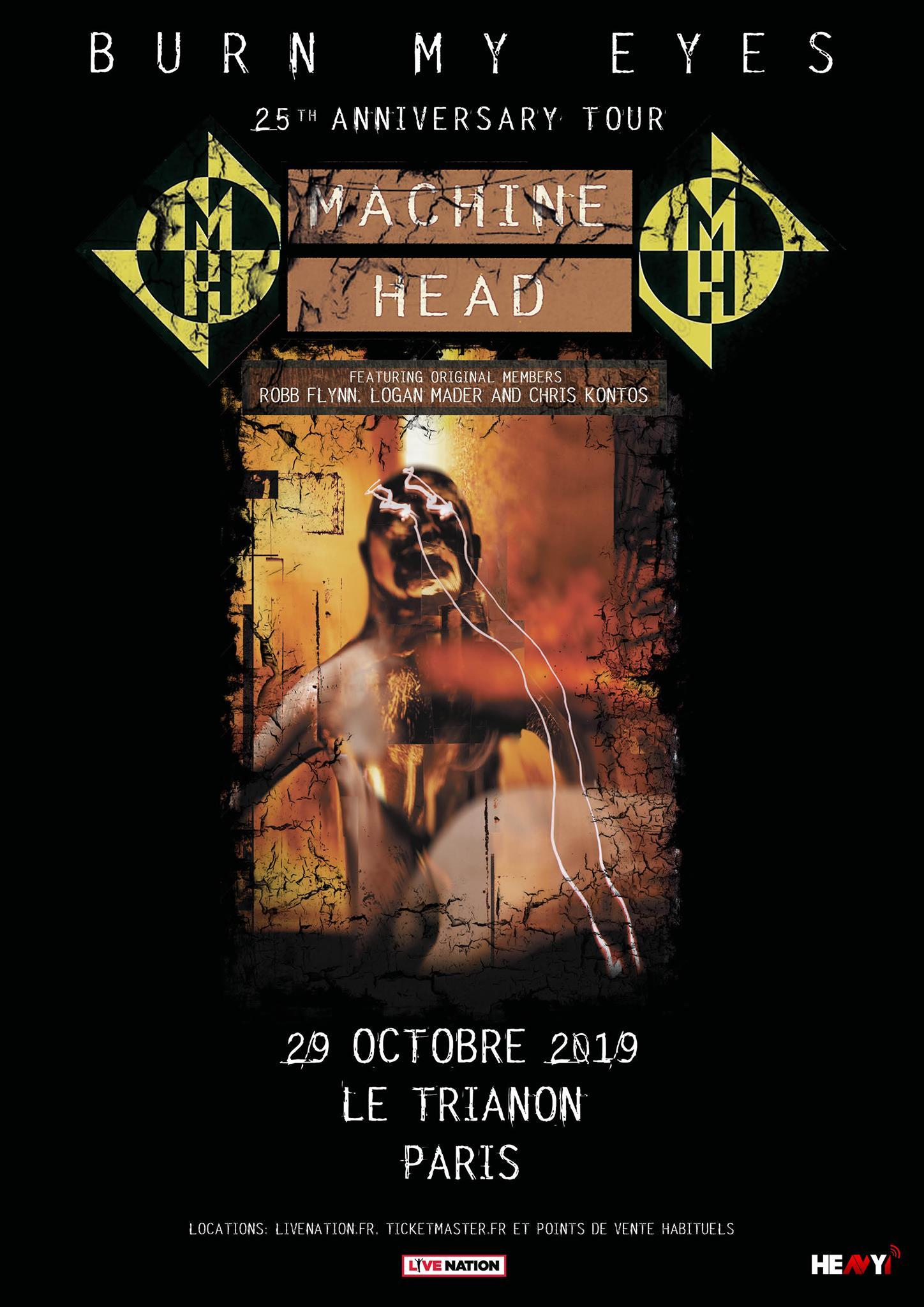 Machine Head @ Trianon (Paris), le 30 Octobre 2019