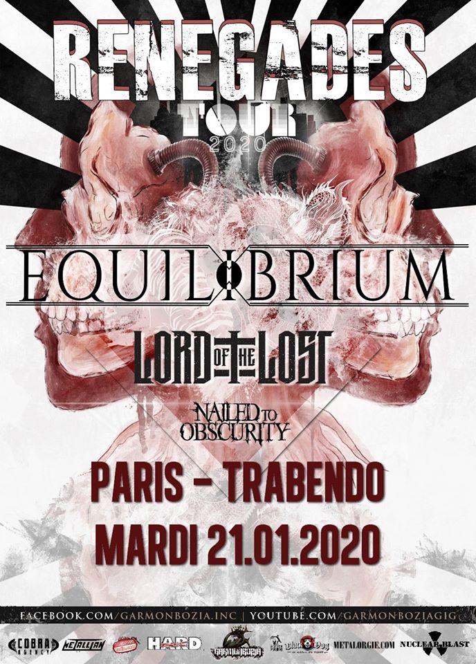 Equilibrium @ Trabendo (Paris), le 21 Janvier 2020