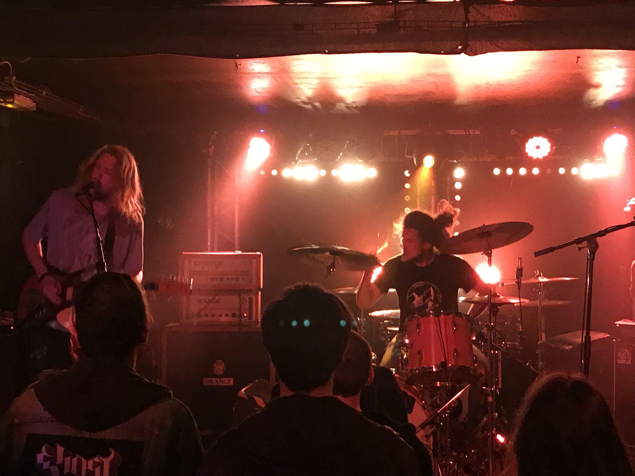 Death Alley + Vodun + Ducktape @ Glazart (Paris), le 15 Mars